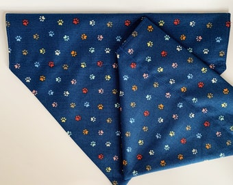 Paw Prints Bandana, Little Paw Prints, Dog Neckerchief