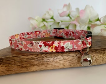 Liberty Cat Collar, Freya Isabella, Floral Collar