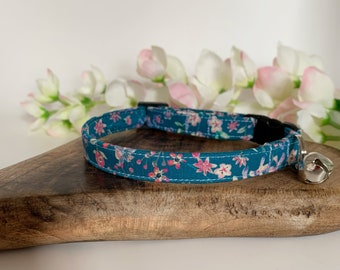 Liberty Cat Collar, Donna Leigh, Floral Collar