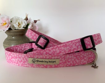 Liberty Dog Collar, Glenjade, Floral Dog Collar