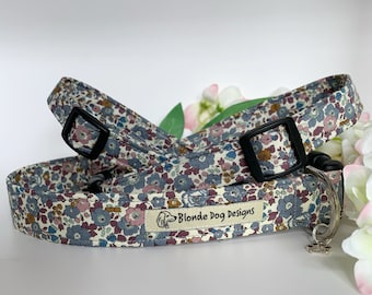 Liberty Dog Collar, Betsy-Ann Fig, Floral Dog Collar