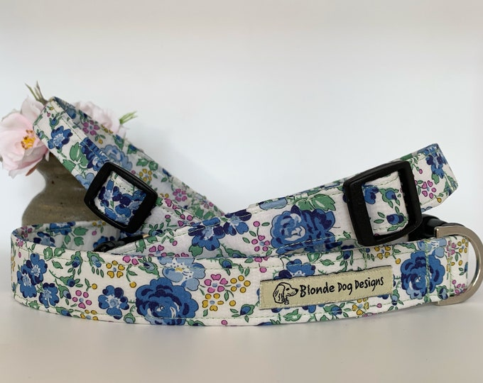 Featured listing image: Liberty Dog Collar, Felicite, Floral Dog Collar