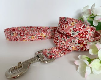 Liberty Dog Lead, Freya Isabella, Floral Dog Leash