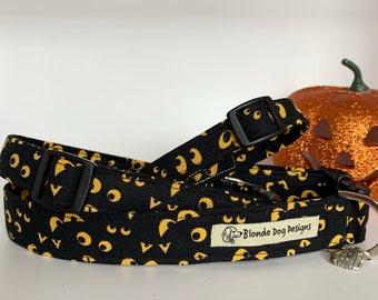 Halloween Dog Collar, Somebody's Watchin' You, Spooky Collar