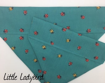 Ladybird Dog Bandana, Little Ladybird, Luxury Neckerchief