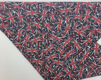 Union Jack Dog Bandana, Jack, Flags Neckerchief