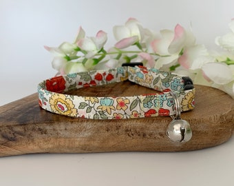 Liberty Cat Collar, D'Anjo Marigold, Floral Collar