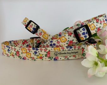 Liberty Dog Collar, Ella & Libby, Floral Dog Collar