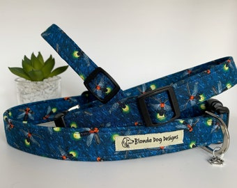 Dog Collar, Firefly, Adjustable Collar