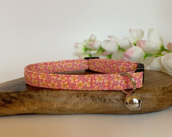 Liberty Cat Collar, Speckle, Floral Collar