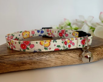 Liberty Cat Collar, Ella & Libby, Floral Collar