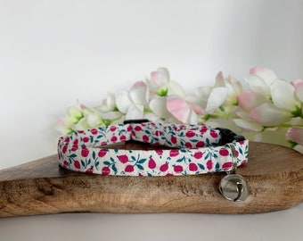 Liberty Cat Collar, Edwina, Floral Collar, Limited Edition