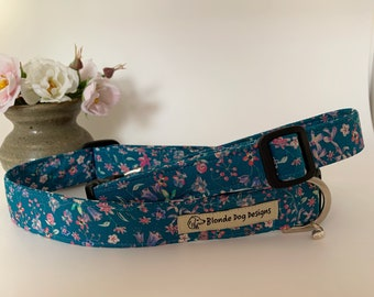 Liberty Dog Collar, Lily-Mae, Floral Dog Collar
