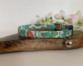 Liberty Cat Collar, Betsy Sage, Floral Collar
