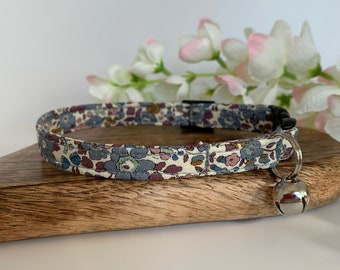 Liberty Cat Collar, Betsy Ann Fig, Floral Collar