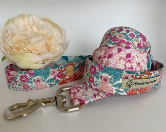 Liberty Dog Lead, Alice's Patchwork, Floral Dog Leash