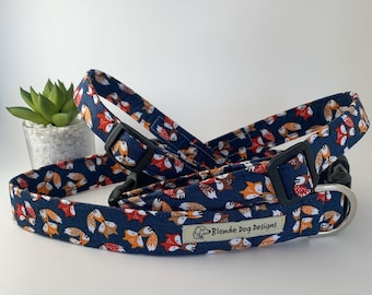 Fox Dog Collar or, Fox Dog Lead, Felix Fox