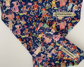 Liberty Dog Bandana, Dapper Dogs, Liberty Print Neckerchief