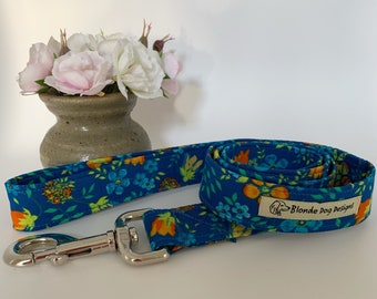 Liberty Dog Lead, Edenham, Floral Leash