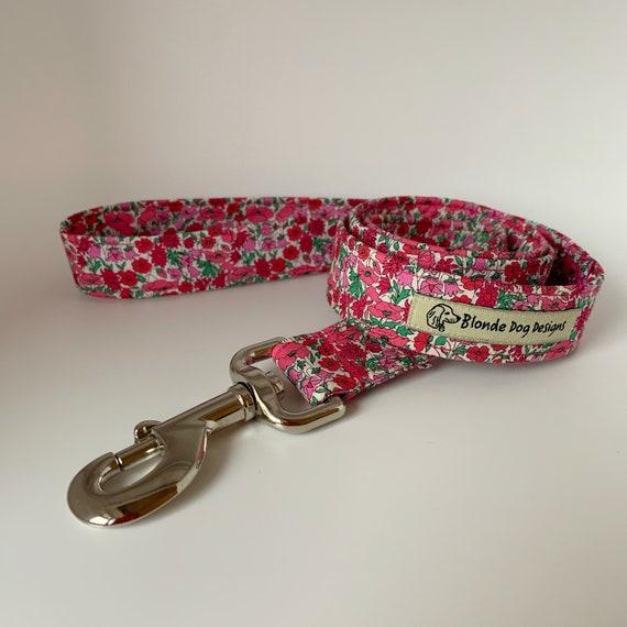 Liberty Dog Lead, Petal & Bud, Floral Dog Leash