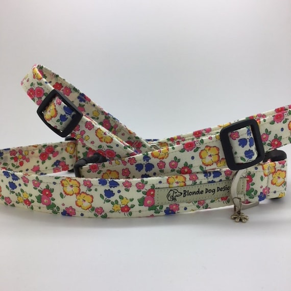 Liberty Dog Collar, Ella & Libby, Floral Dog Collar