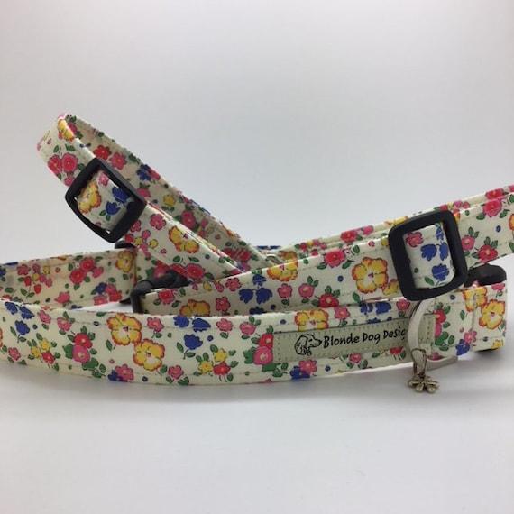 Liberty Dog Collar, Ella & Libby, Pretty Dog Collar, Floral Dog Collar, Girl Dog Collar, Summer Dog Collar, Liberty Collar.