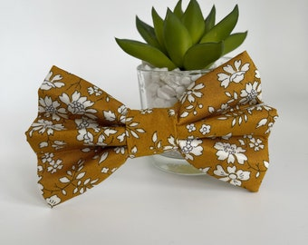 Liberty Dog Bow, Capel, Floral Bow Tie
