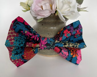Liberty Dog Bow, Ciara, Floral Bow Tie