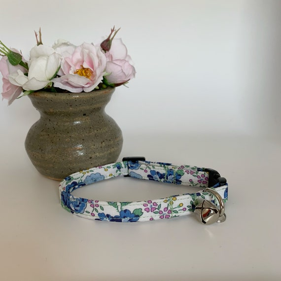 Liberty Cat Collar, Felicite, Floral Collar