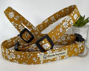 Liberty Dog Collar, Capel, Floral Dog Collar
