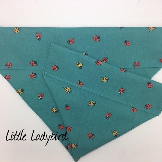 Ladybird Dog Bandana, Little Ladybird, Luxury Dog Neckerchief