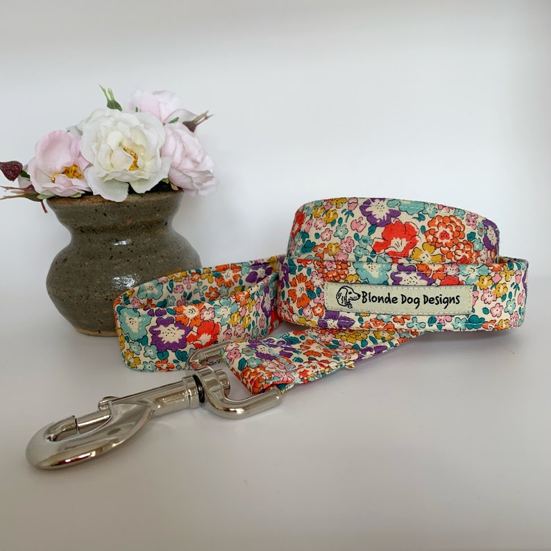 Liberty Dog Lead Michelle Floral Dog Lead image 0