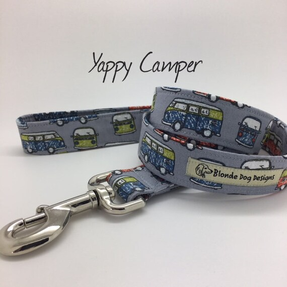 Camper Van Dog Lead, Yappy Camper