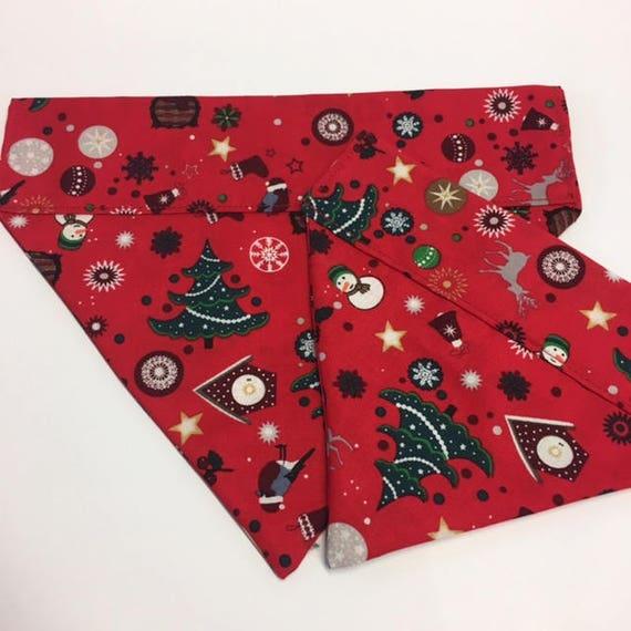 Christmas Dog Bandana, Festive Fun, Festive Neckerchief