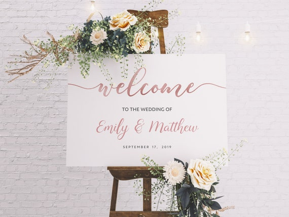 18x24 Printable Instant Download DIY Italian rustic olives Wedding Welcome Poster Template
