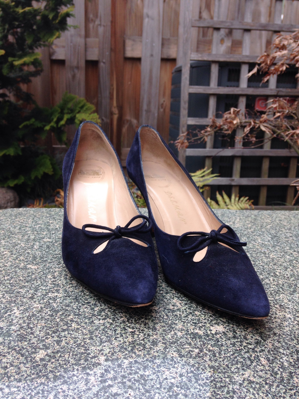 69beb09b843 Vintage Delman Leather Heels // 1960s Heels // 1960s Shoes // Suede Leather  Heels