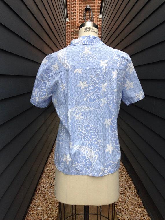 1960s Hawaiian Shirt // Vintage Hawaiian Shirt //… - image 5
