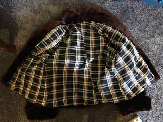 Vintage Beaver Fur Bolero Jacket // Vintage Fur j… - image 5