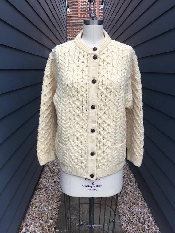 Vintage Irish Sweater // Vintage Sweater // Vintag