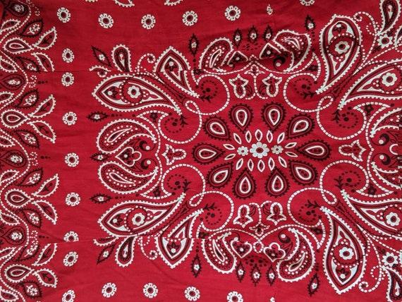 1970s bandana two piece set // Vintage two piece … - image 5