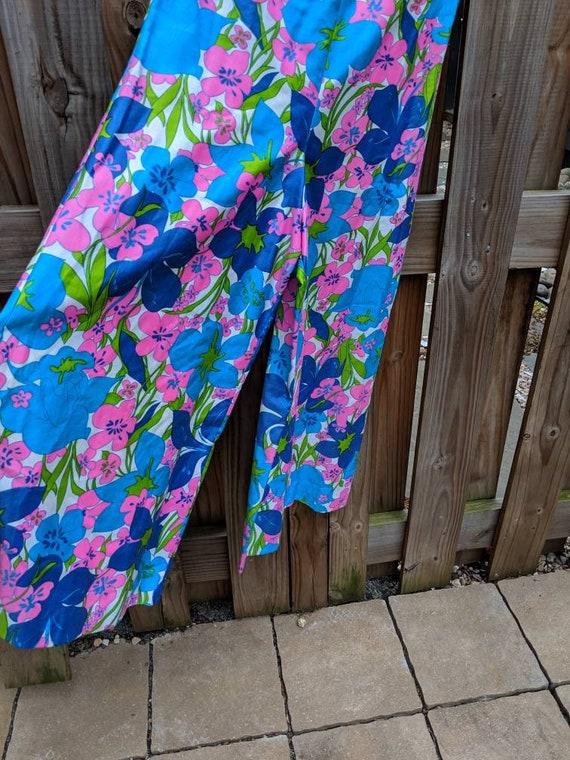 1960s-70s Wide leg jumpsuit // Vintage Jumpsuit /… - image 4