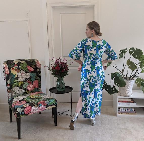1960s Psychedelic Printed Hawaiian Dress // Psych… - image 5