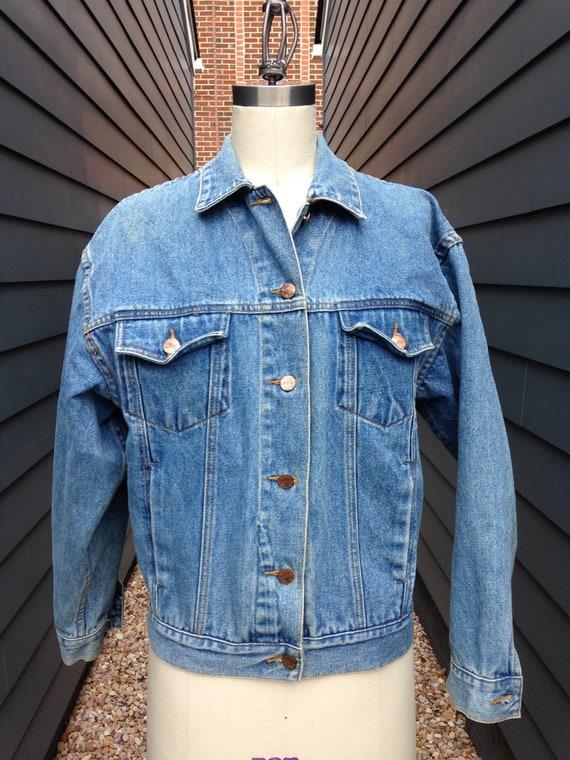 d76d1b2462 Vintage Perry Ellis Denim Jacket    Vintage Jean Jacket