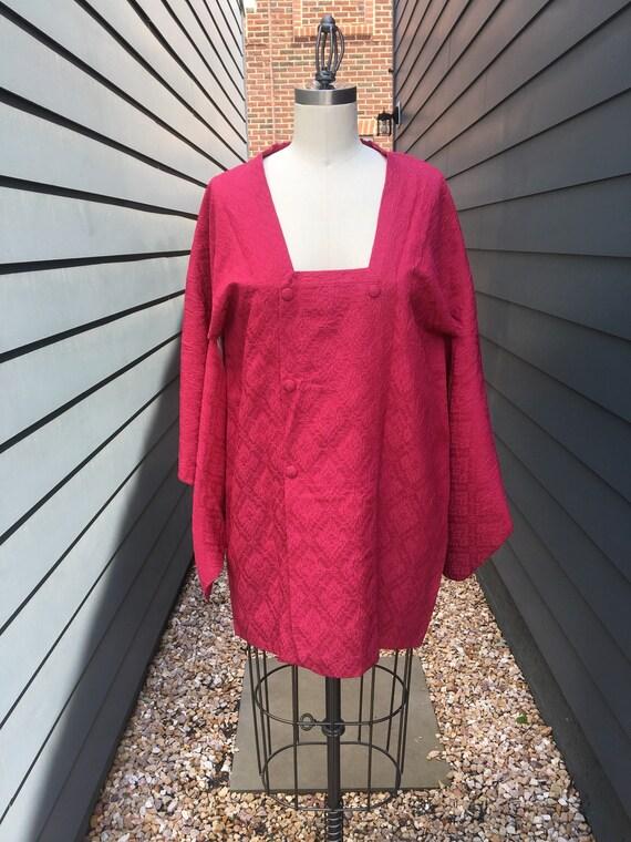 SALE Vintage Silk Japanese Kimono // Vintage pink