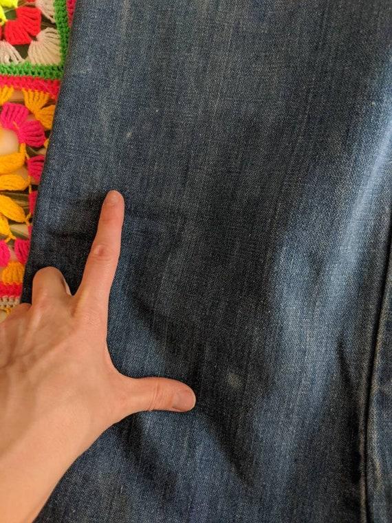 1970s Wrangler Flares Jeans // Vintage Wrangler B… - image 10
