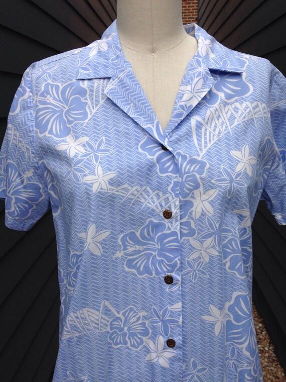 1960s Hawaiian Shirt // Vintage Hawaiian Shirt //… - image 2