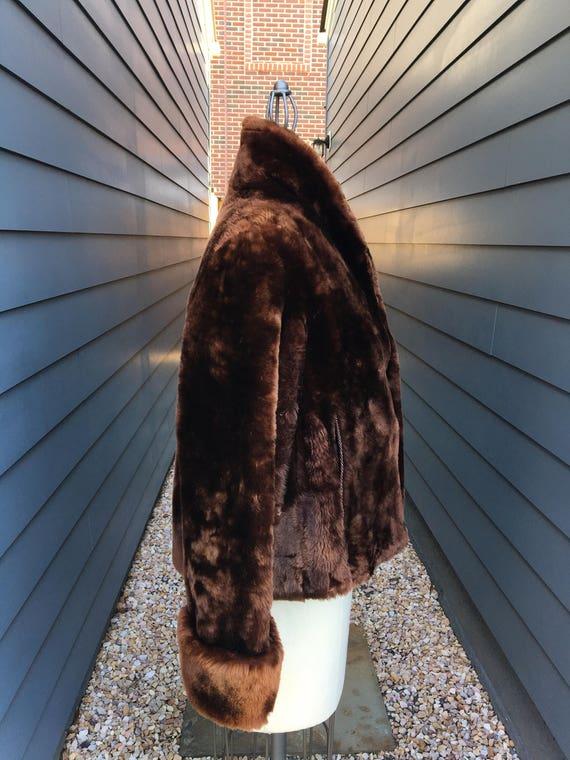 Vintage Beaver Fur Bolero Jacket // Vintage Fur j… - image 3
