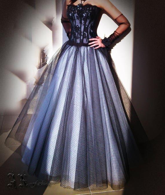 Skirt Tulle Bridal Wedding Bridal Full Circle amp; Separates Wedding Long Tulle Gown Skirt Black Skirt Princess White Tulle Ball Skirt wPSaSq