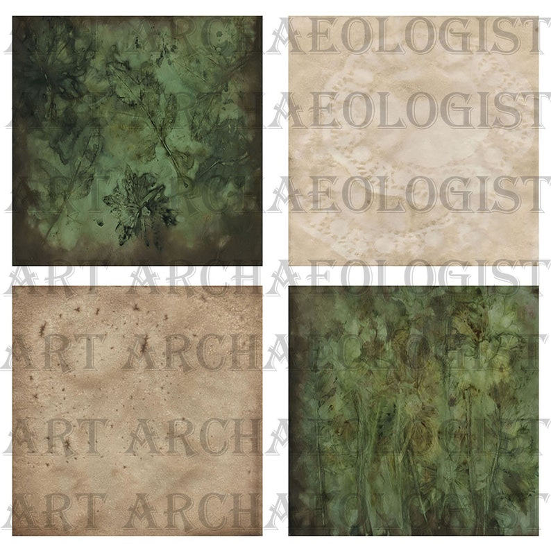 10-8.5 by 11 inch eco dyed papers 2-8.5 by 11 inch coffee stained backing papers 3 zip files-jpeg format. Neo Eco Dyed Digital Kit