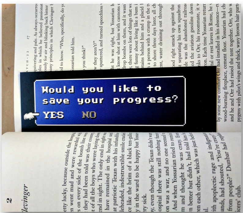 Final Fantasy Bookmark Would You Like To Save Your image 0
